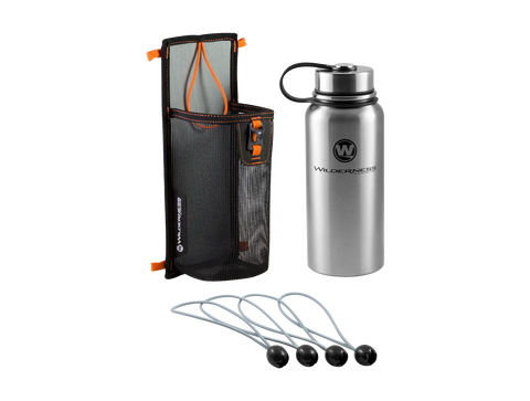 Wilderness Systems Mesh Storage Sleeve & Water Bottle Kit