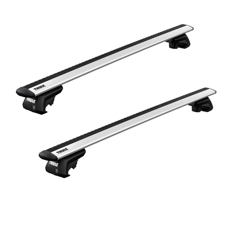 Thule Wing Bar Evo Roof Rack for Raised Rails-AQ-Outdoors