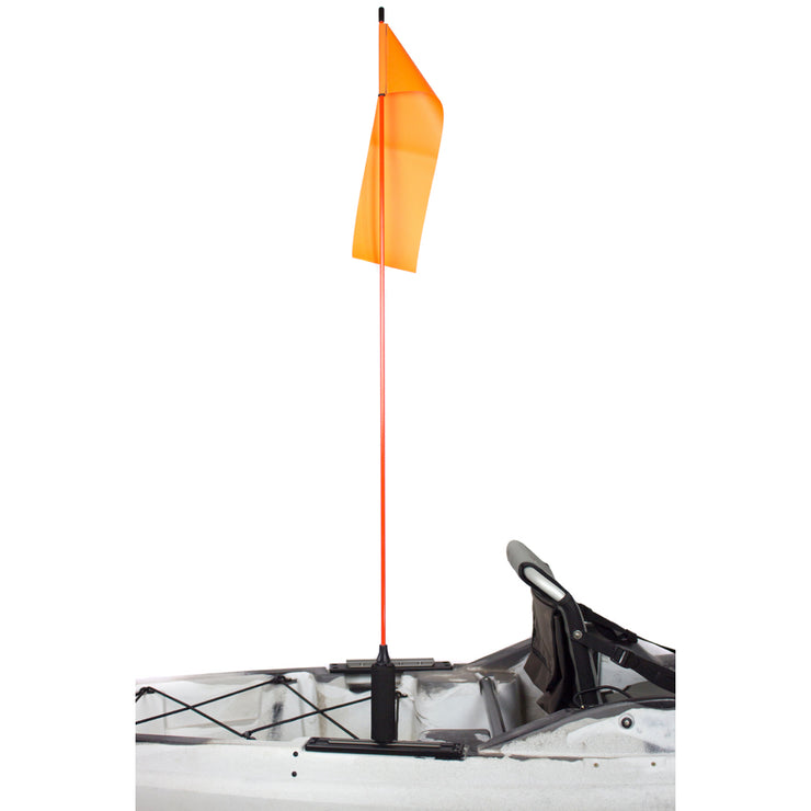 "Yakattack VisiFlag 52"" with Mighty Mount-AQ-Outdoors"