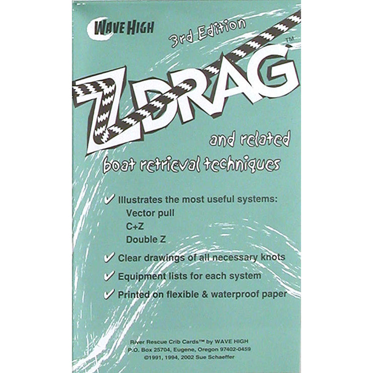 Wave High Z-Drag Rescue Crib Sheet-AQ-Outdoors