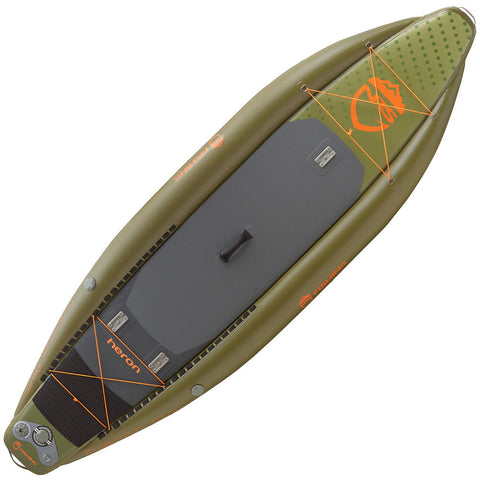 2019 NRS Heron Fishing Inflatable SUP Board