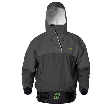 Juneau Jacket Paddling Tops CHARCOAL / XS Level Six