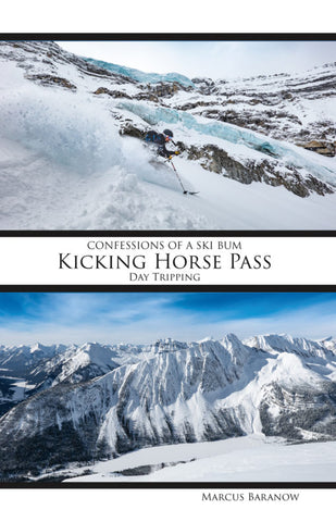 Confessions Of A Ski Bum - Kicking Horse Pass Guide Book-AQ-Outdoors