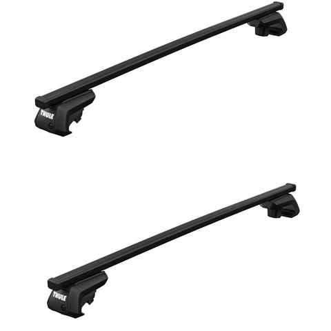 Thule Square Bar Evo Roof Rack for Raised Rails