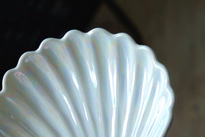 Iridescent White Shell Trinket