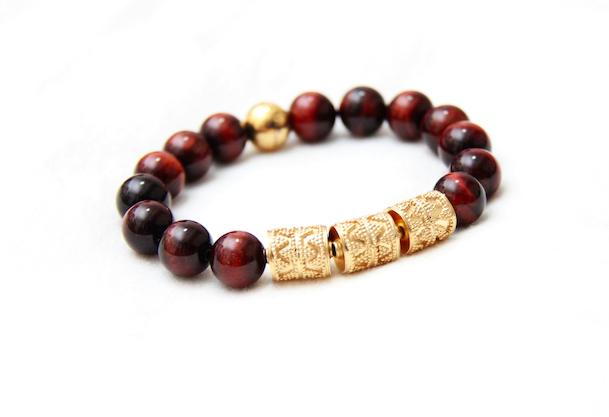 The Tigers' Eye Apex in Crimson