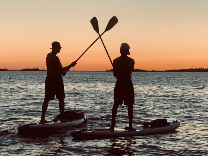 Sunset SUP at Nimbus Flat August 10