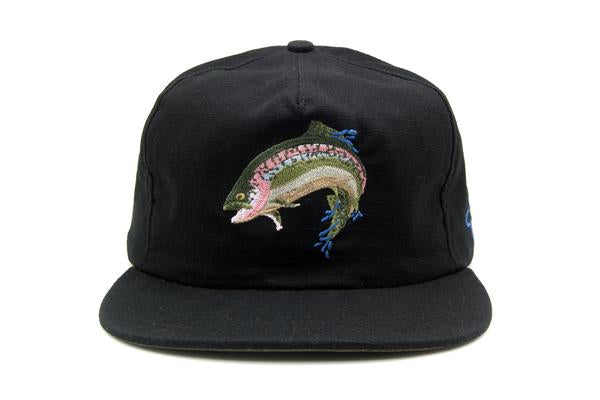 The Ampal Creative Black Rainbow Strapback Hat