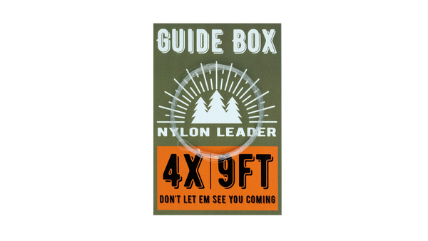 GuideBox 4x Fly Fishing Leader - 9'