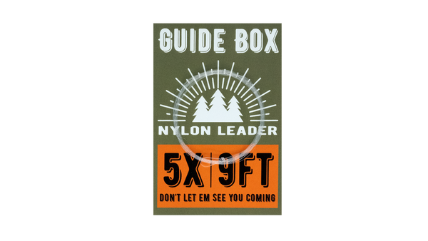 GuideBox 5x Fly Fishing Leader - 9'