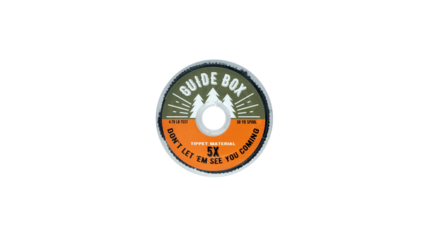 GuideBox 5x Fly Fishing Tippet