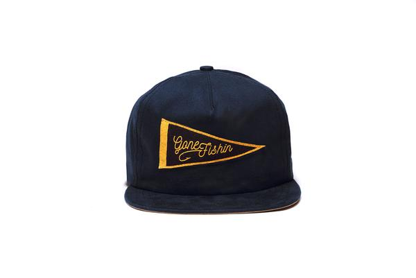 The Ampal Creative Gone Fishin' Strapback Hat
