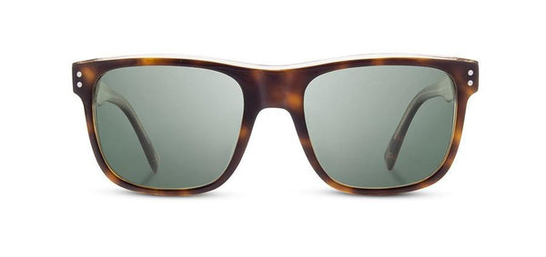 Shwood Monroe Sunglass in Brindle / Grey Polarized