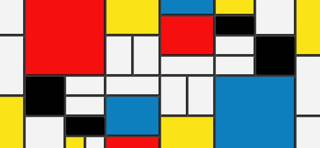 Mondrian Collection: Geometric And Abstract Cushion Designs