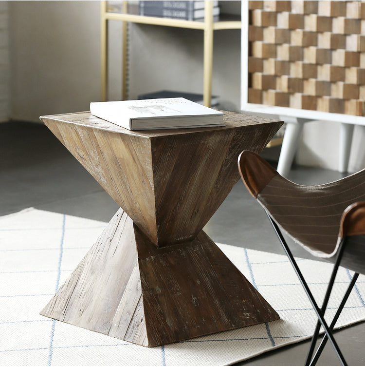 ZYNN Designer Pyramid Side Table