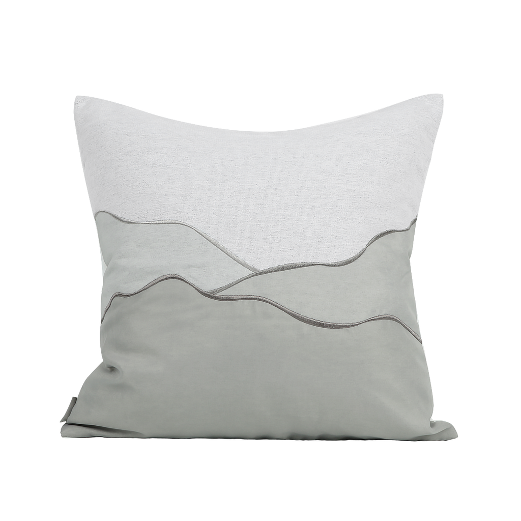 Halla Shimmering Grey Cushion