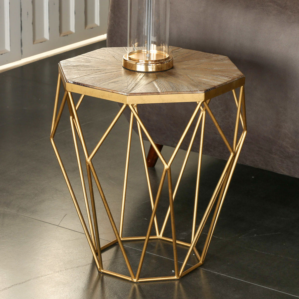 Carpo Octagon Side Table