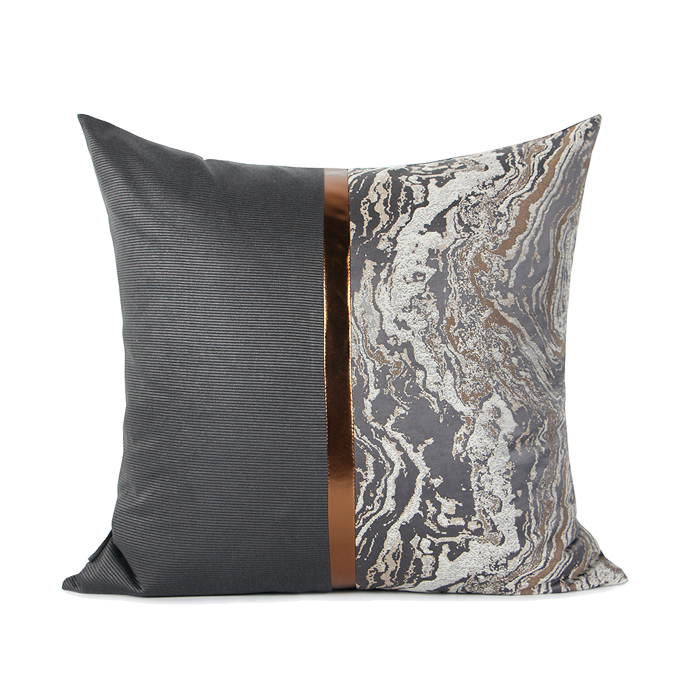 Ceto Marble Grey Cushion