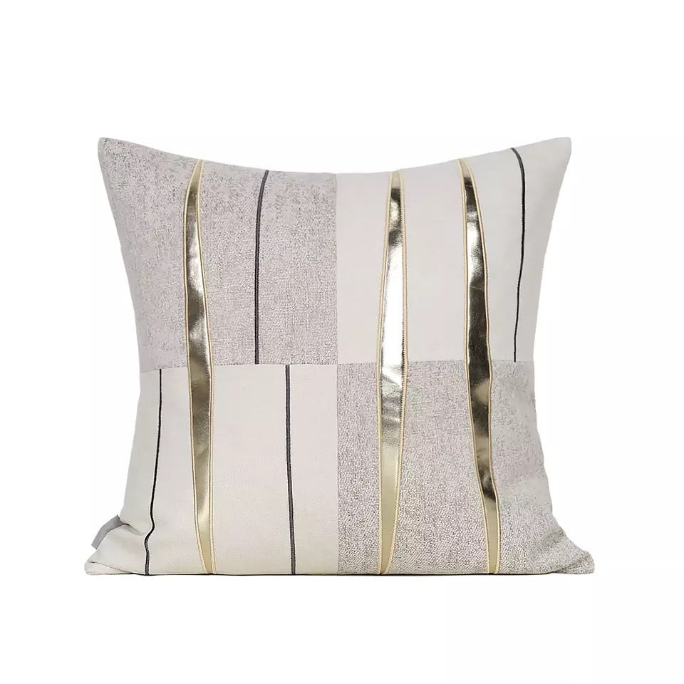 Donna Gold Sliced Cushion