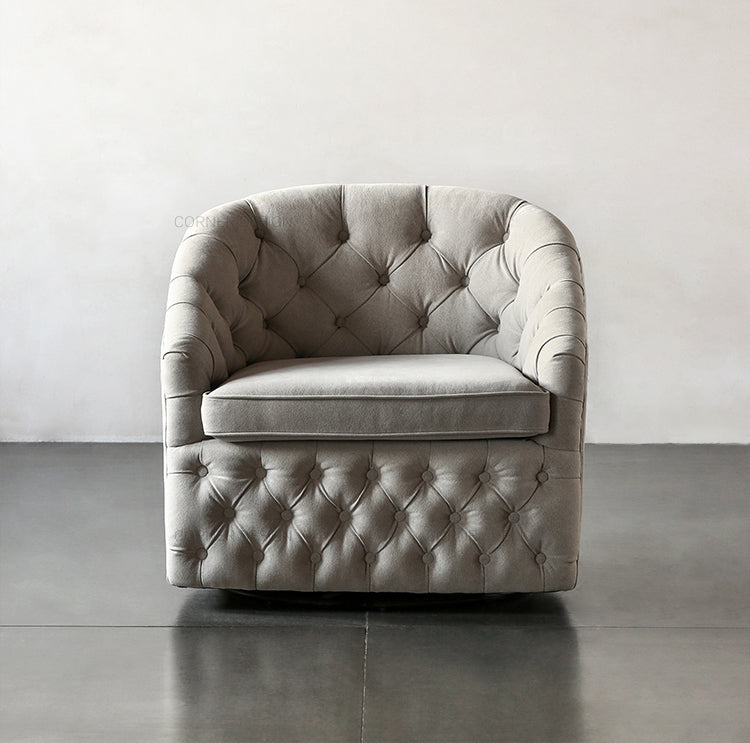 Eton Button - Tufted Armchair