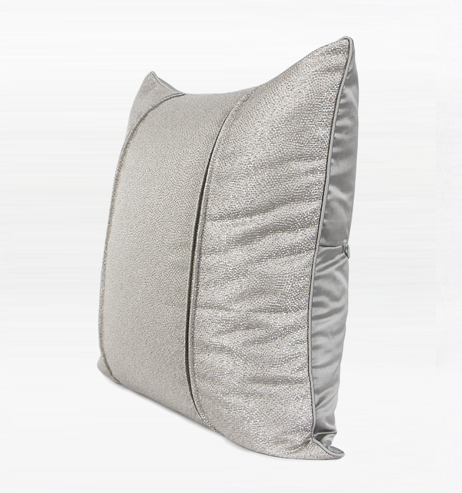 Euros jacquard Cushion Grey/Blue
