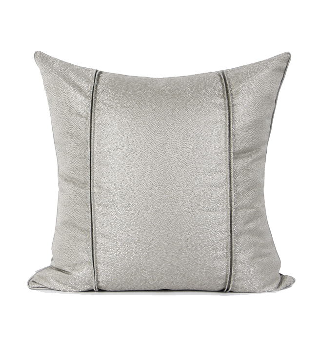 Euros jacquard Cushion Grey