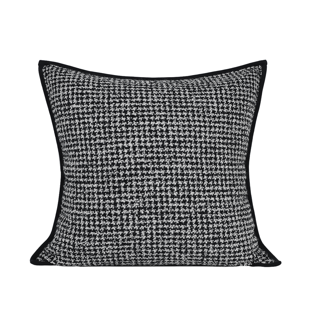 Mariah Black and White Cushion