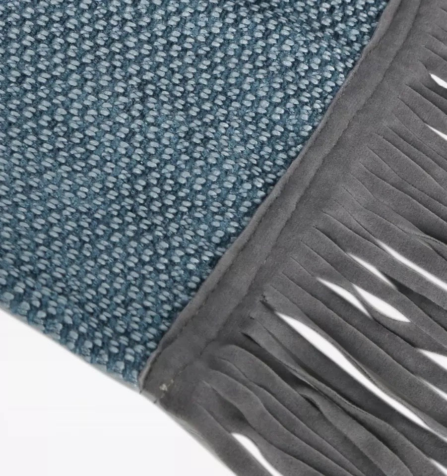 Lucens Dusty Blue Throw