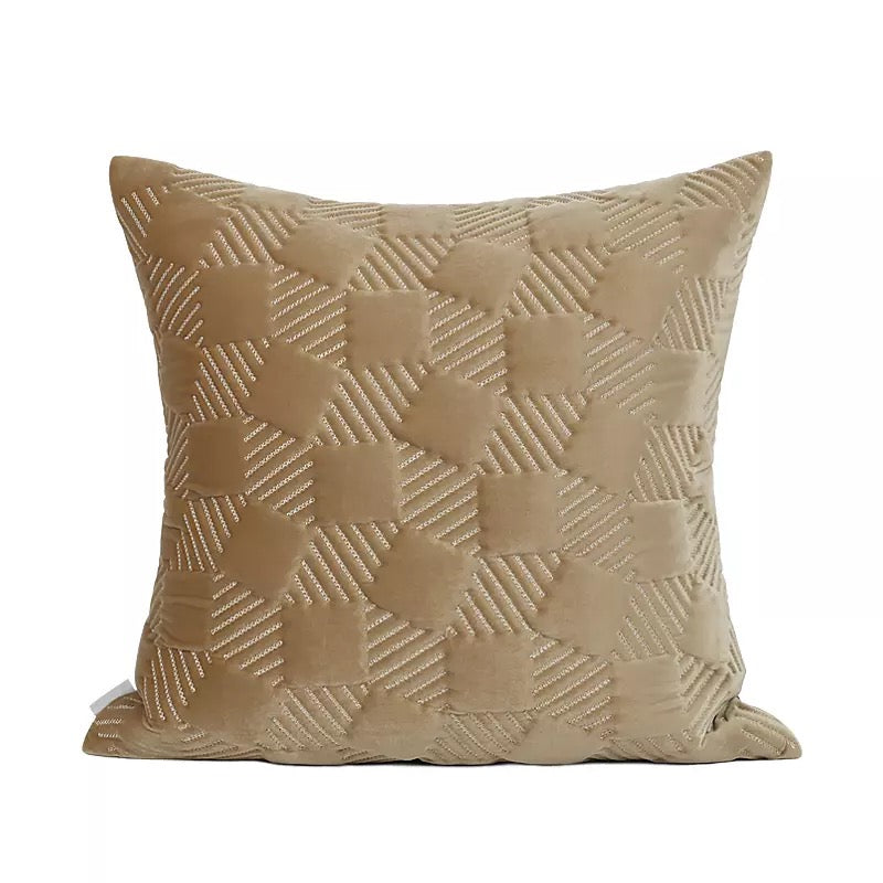 Sheen Mocha Dye Cushion