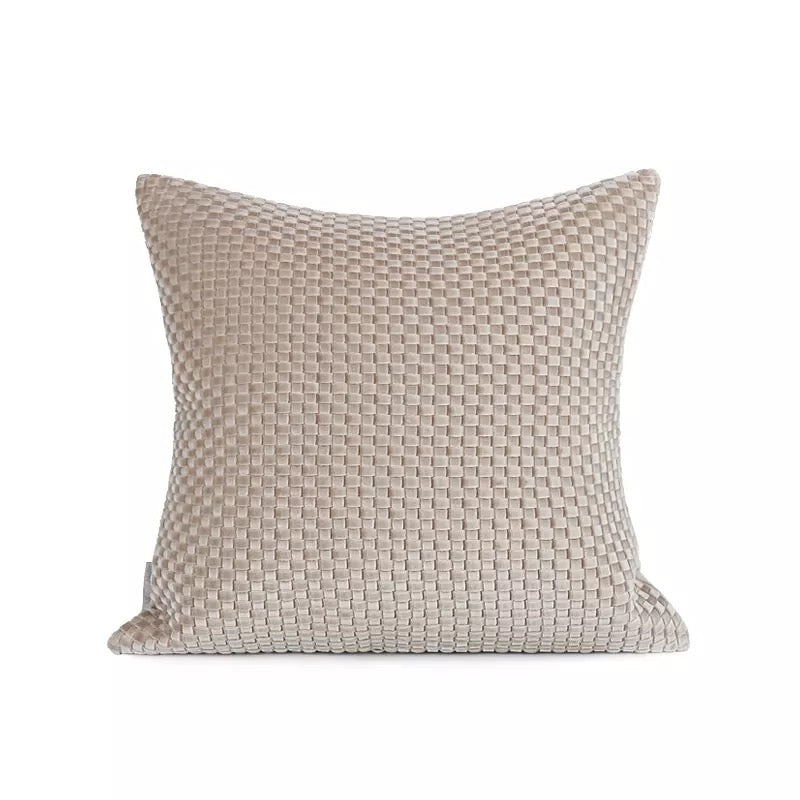 Savannah Braided Cream Cushion