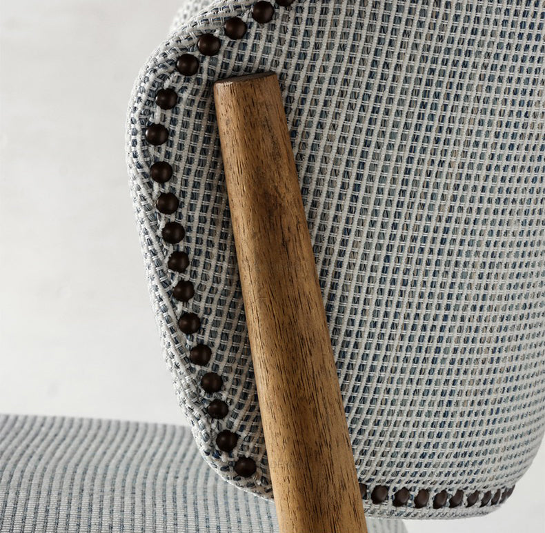 Ren Linen Dining Chair