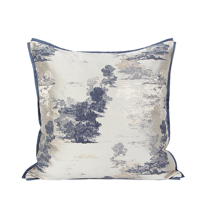 Ink Steel Blue Cushion