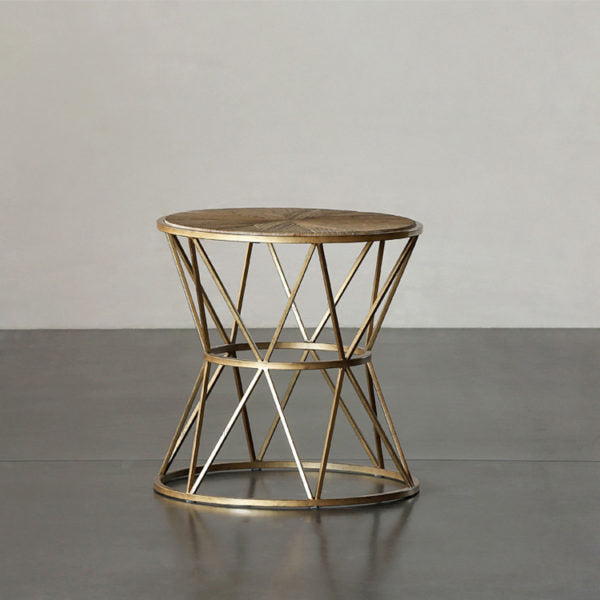 JOHAN Round Wooden Side Table