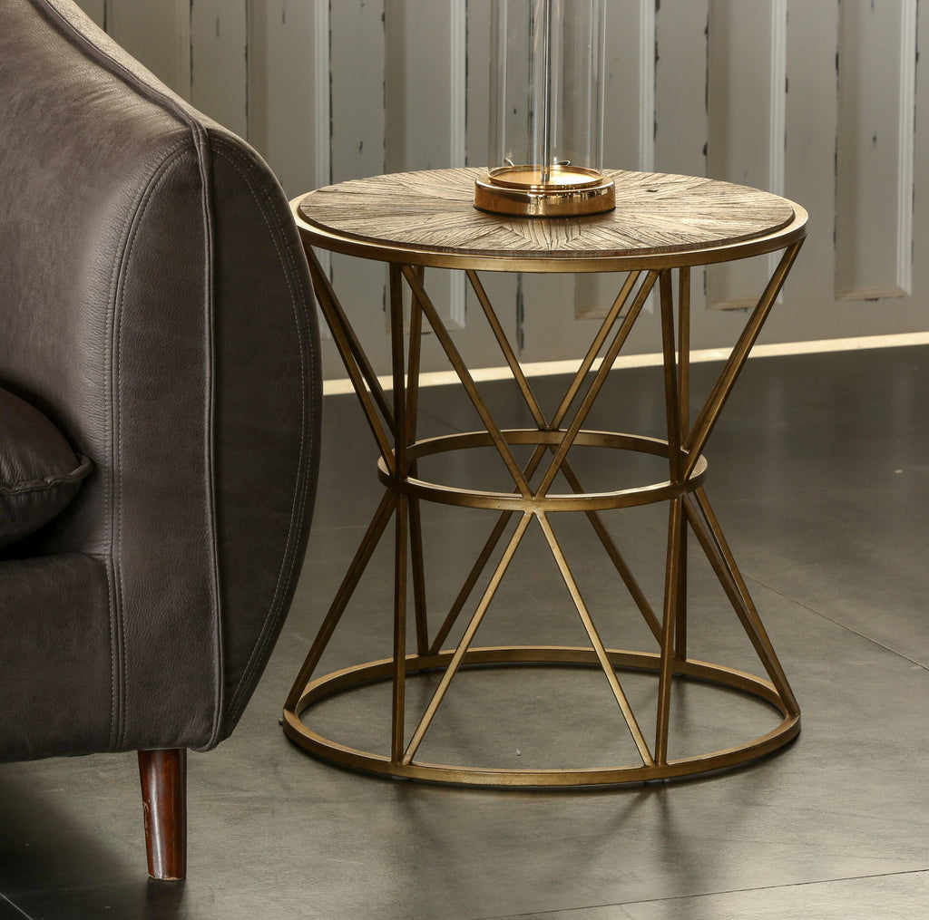 JOHAN Triangle Wooden Side Table