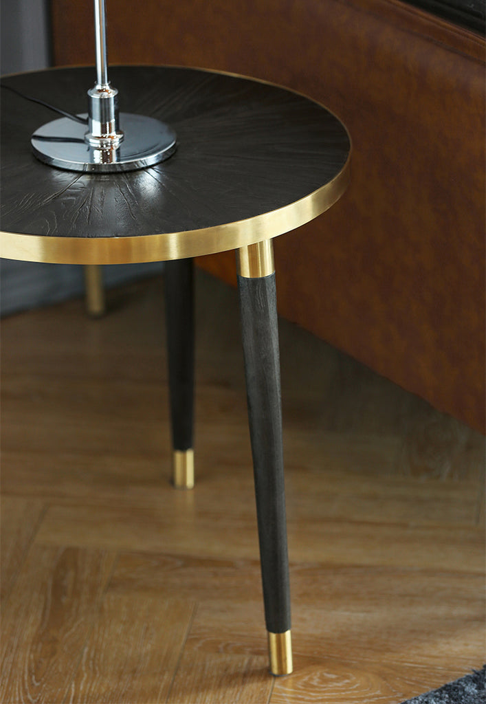 Lindy Elm Side Table