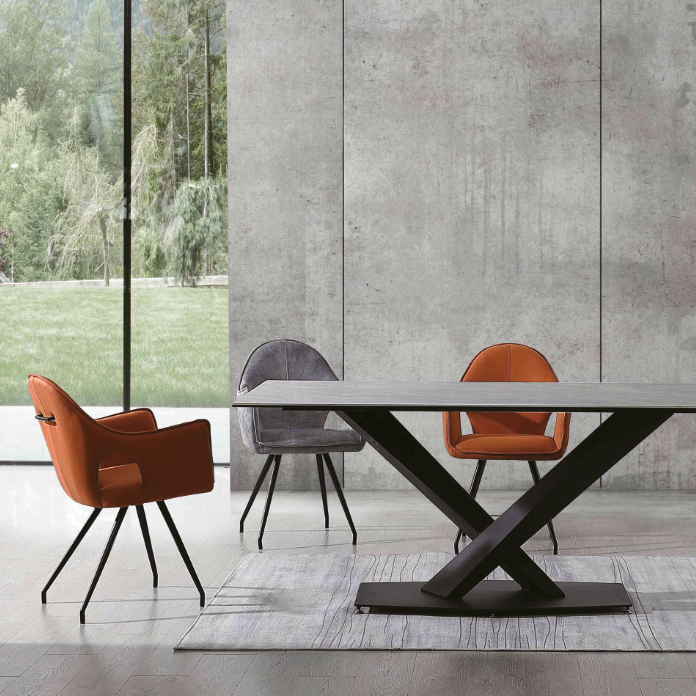 Luccini Dining Chair Orange
