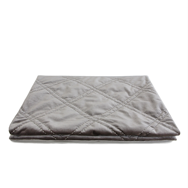 MARCOS Silver Grey Bed Runner