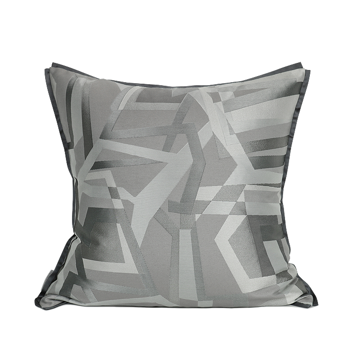 Britney Intriguing Grey Cushion