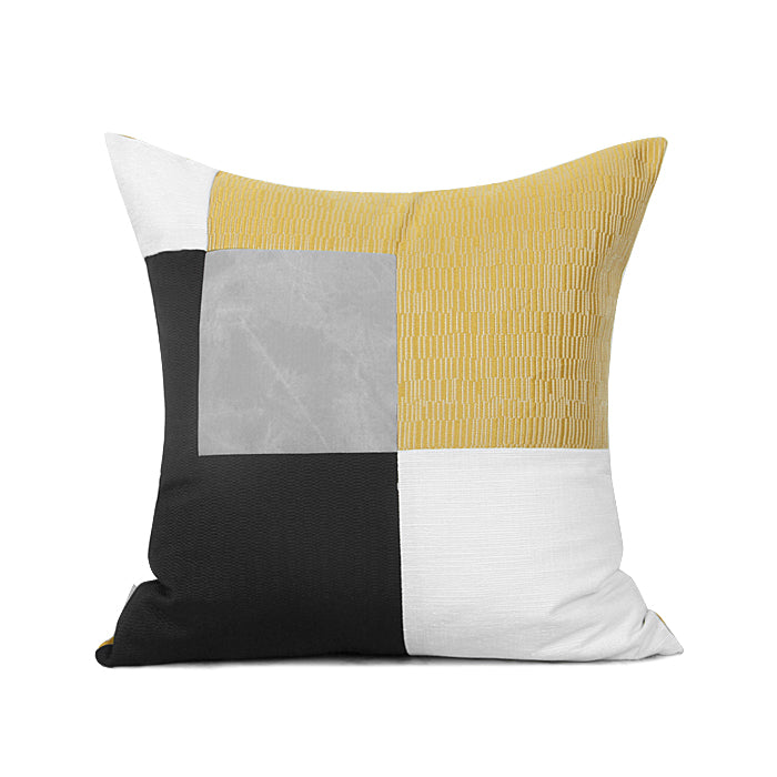 MIRO Multi-color Geomatric Cushion