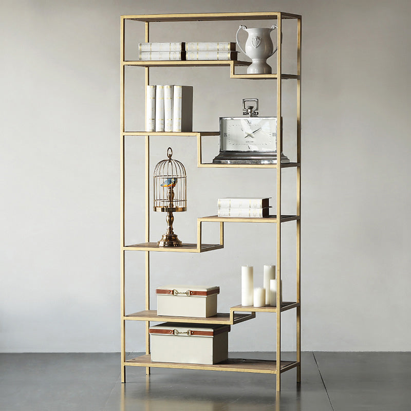 VOLARA Modern Golden Shelf