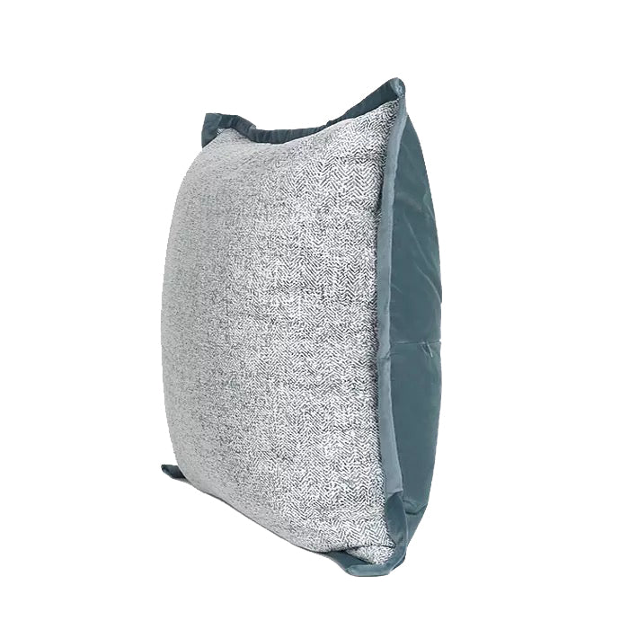Zen Grey And Blue Cushion
