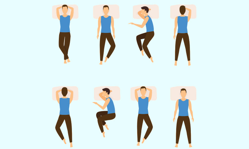 1.Confirm your sleeping position