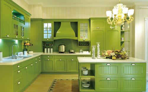 Green represents the color of the revival of all things