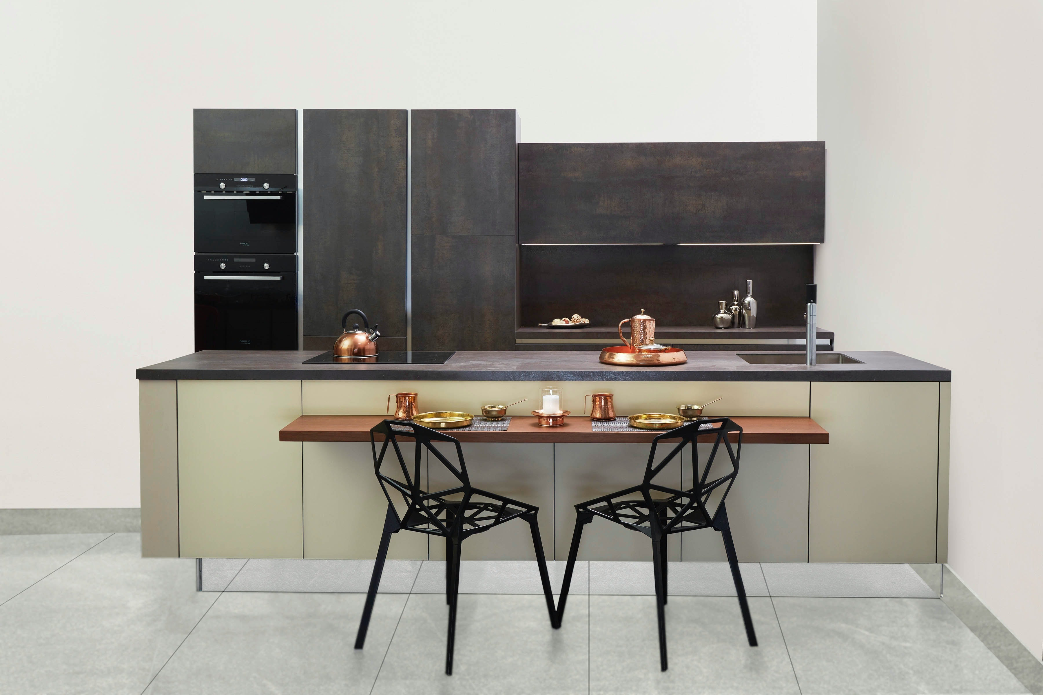 Different styles of design of the kitchen reflect the different preferences of the owner.