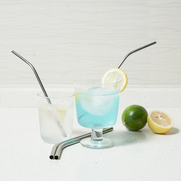 Metal Straws, Adoric Set of 8 Reusable Straws