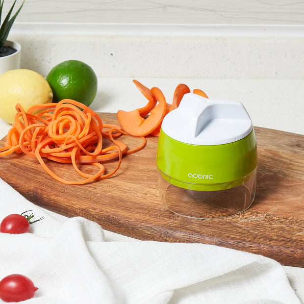 Adoric Vegetable Slicer, 3 in 1 Heavy Duty Veggie Slicer
