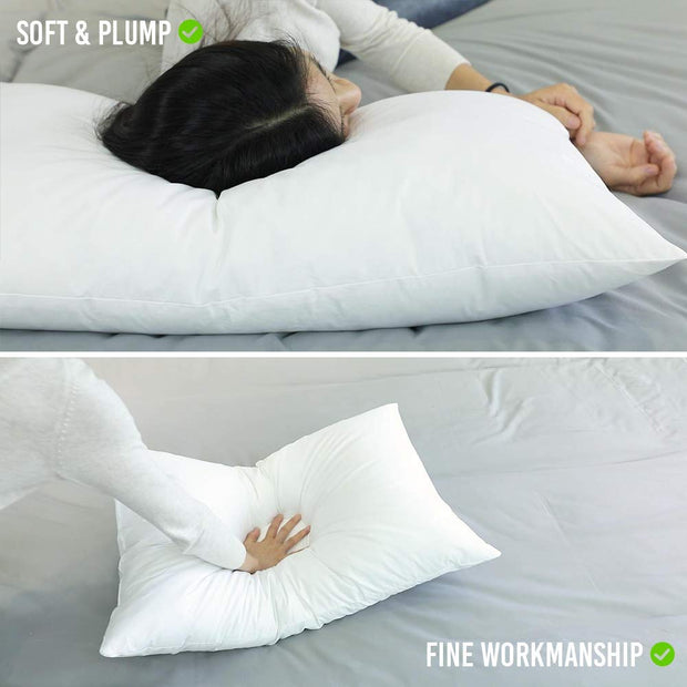 100% Cotton Down Alternative Bed Pillows for sleeping UPC 9461753396481