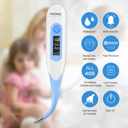 Digital Thermometer, Kids Baby Adults Infant Thermometer
