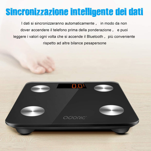 ADORIC™ Bluetooth Body Fat Scales, EU