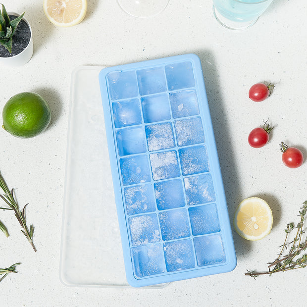 Adoric Silicone Ice Cube Trays 2 Pack, Easy-Release Ice Cube Maker